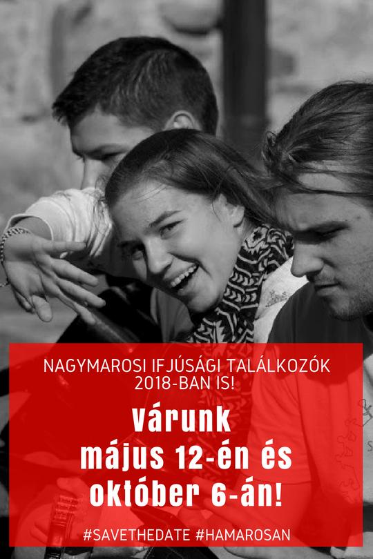 Nagymarosi Ifjúsági Találkozók 2018-ban is!