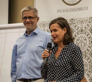Csaba és Ágota (forrás: Pécsi Egyházmegye)